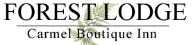 Forest Lodge – Carmel Boutique Inn Logo